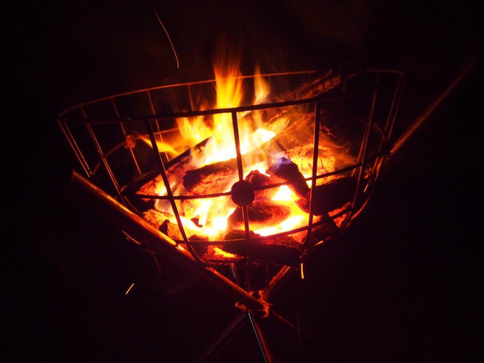 霧島東神社例大祭の火