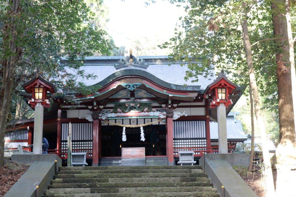 霧島東神社の社殿