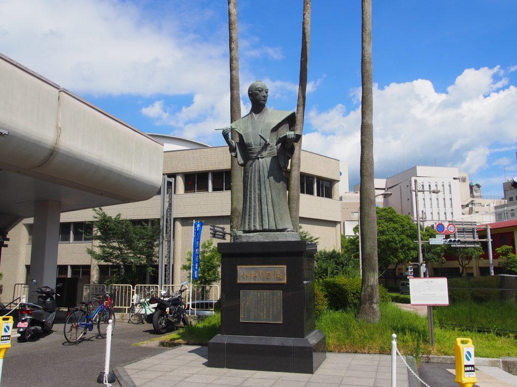 小松帯刀銅像