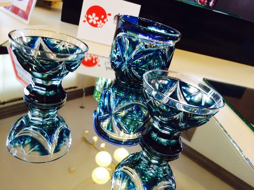 Satsuma Kiriko Glass