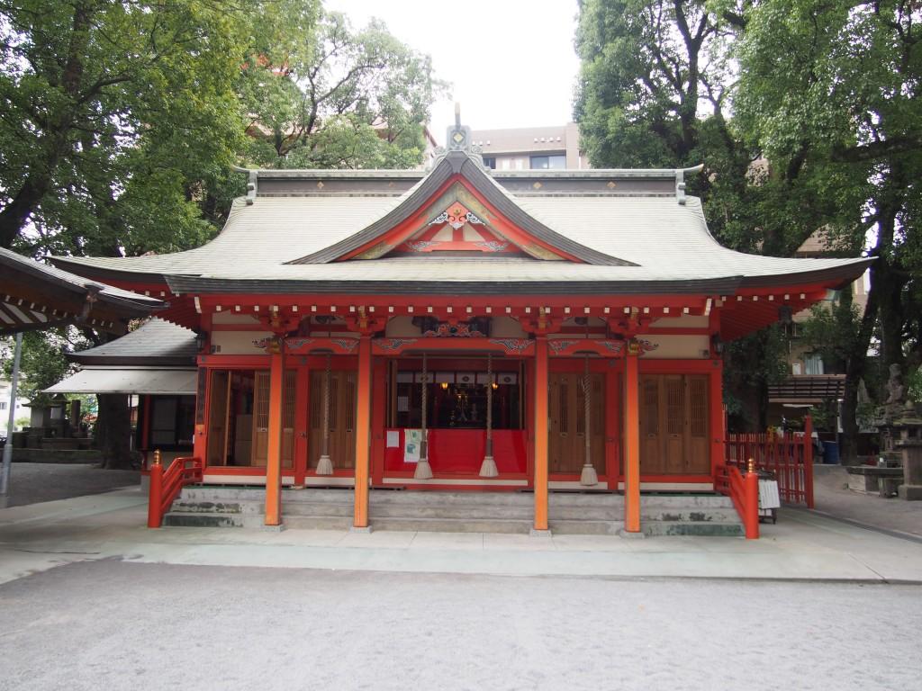 荒田八幡宮の社殿