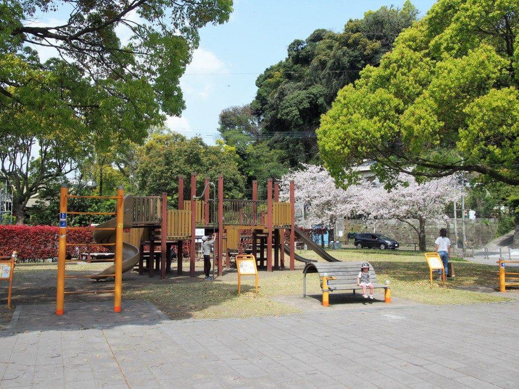 石橋記念公園の桜