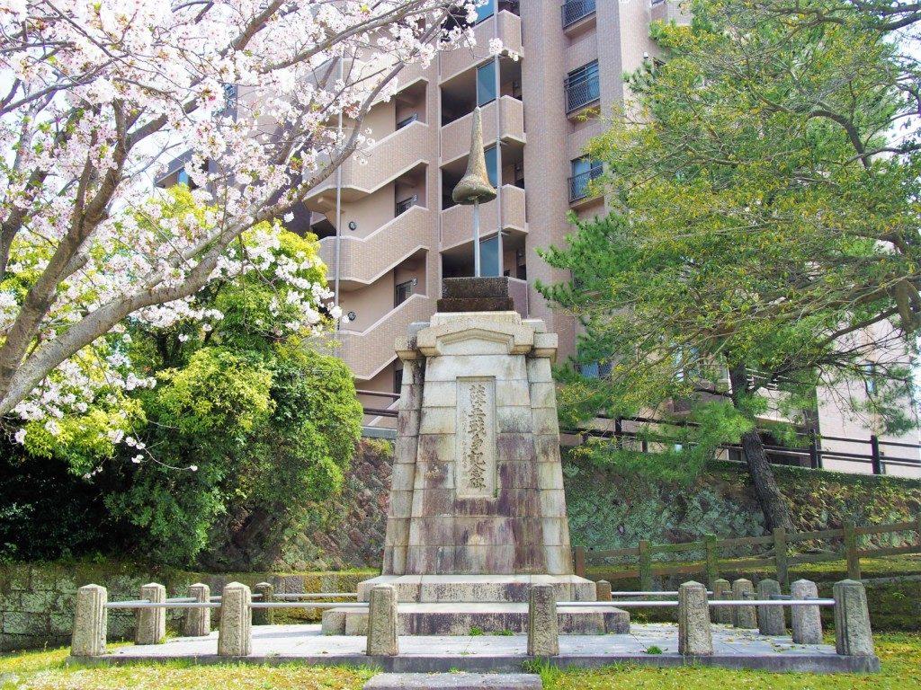 薩英戦争記念碑