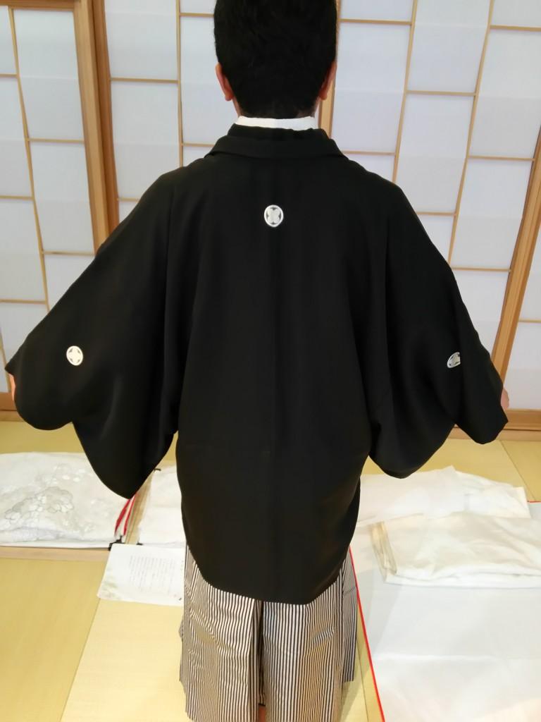 紋付袴(後ろ)