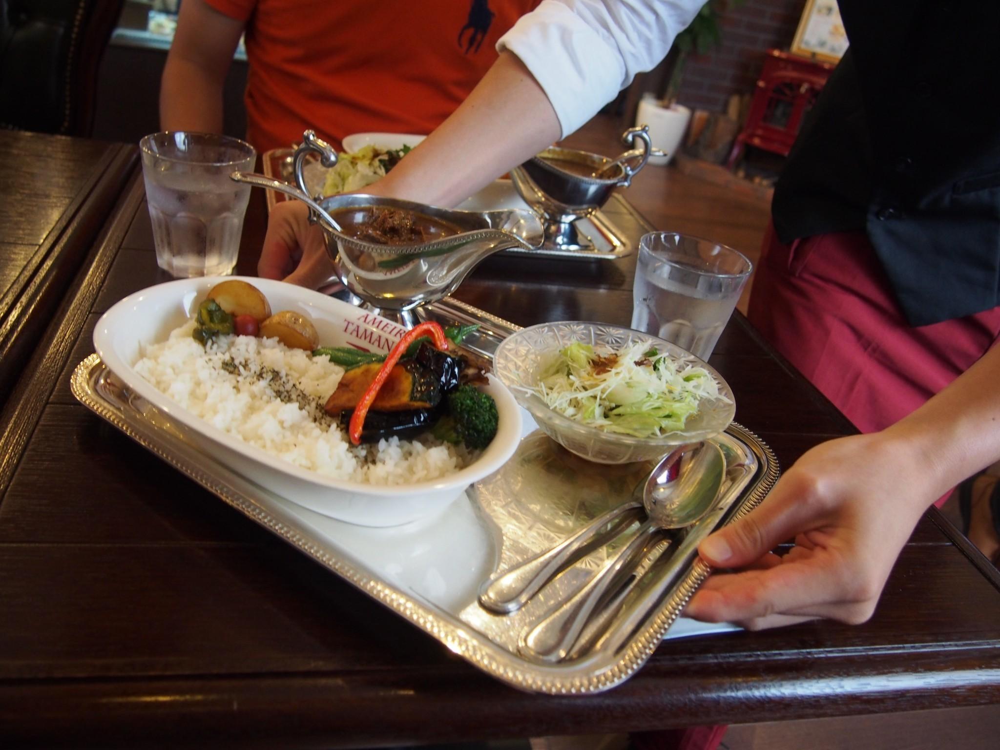 Curry in Ameiro-Tamanegi