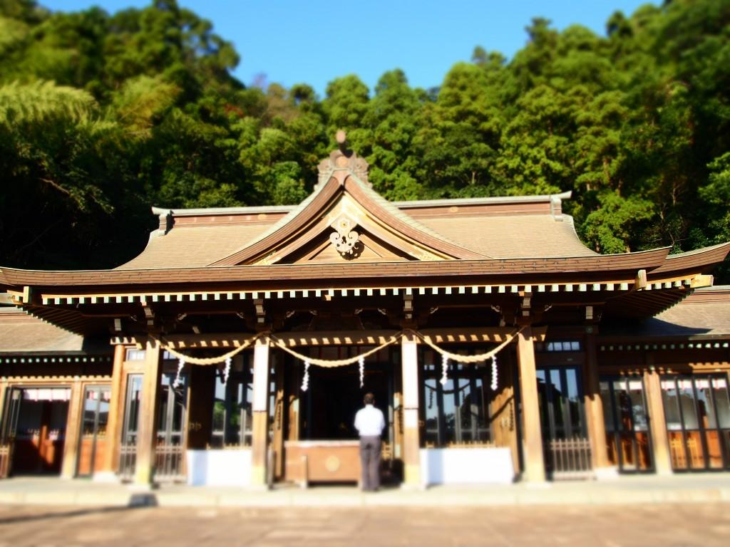 鹿児島縣護国神社の社殿