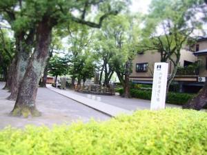 西郷隆盛誕生地 birthplace of Takamori Saigo Kagoshima, Japan
