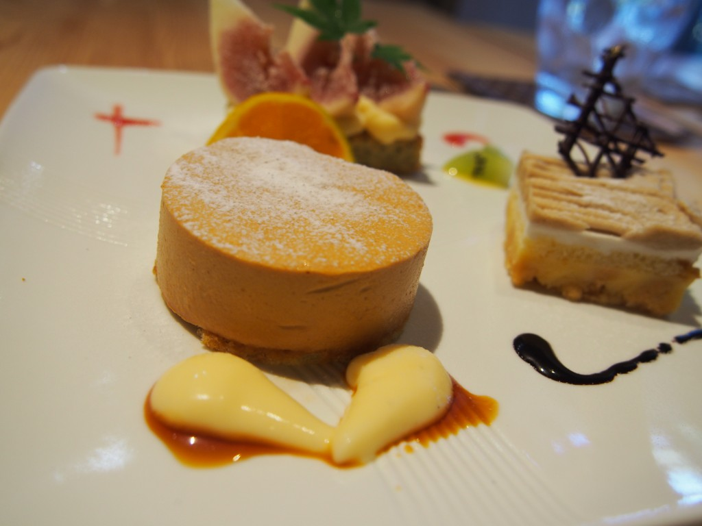 さーどすとーん プリン ランチ thirdstone pudding lunch cafe kagoshima kiire japan