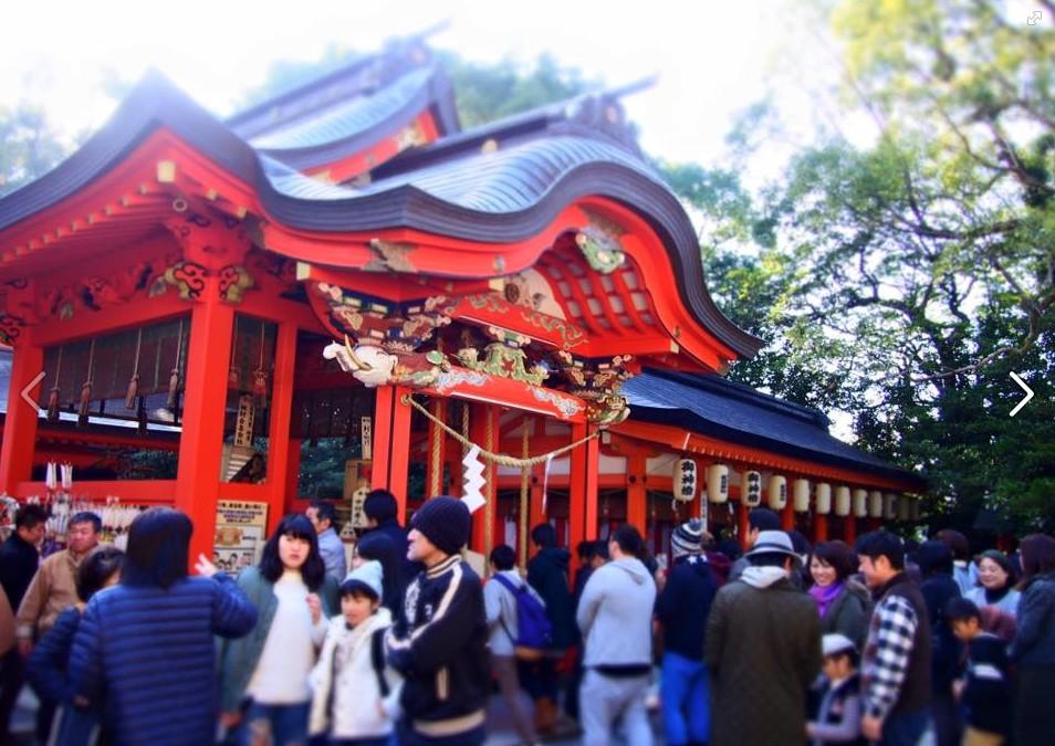 new year of hirakiki shrine