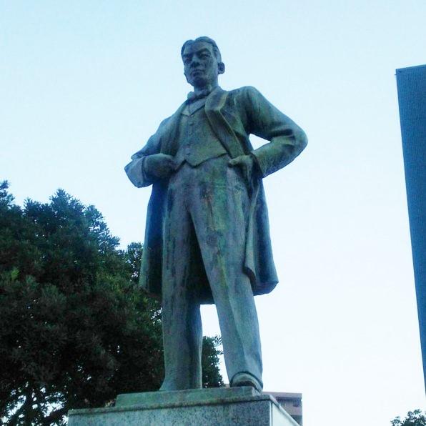 Godai Tomoatsu Statue