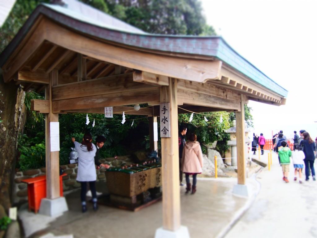 鵜戸神宮の手水舎
