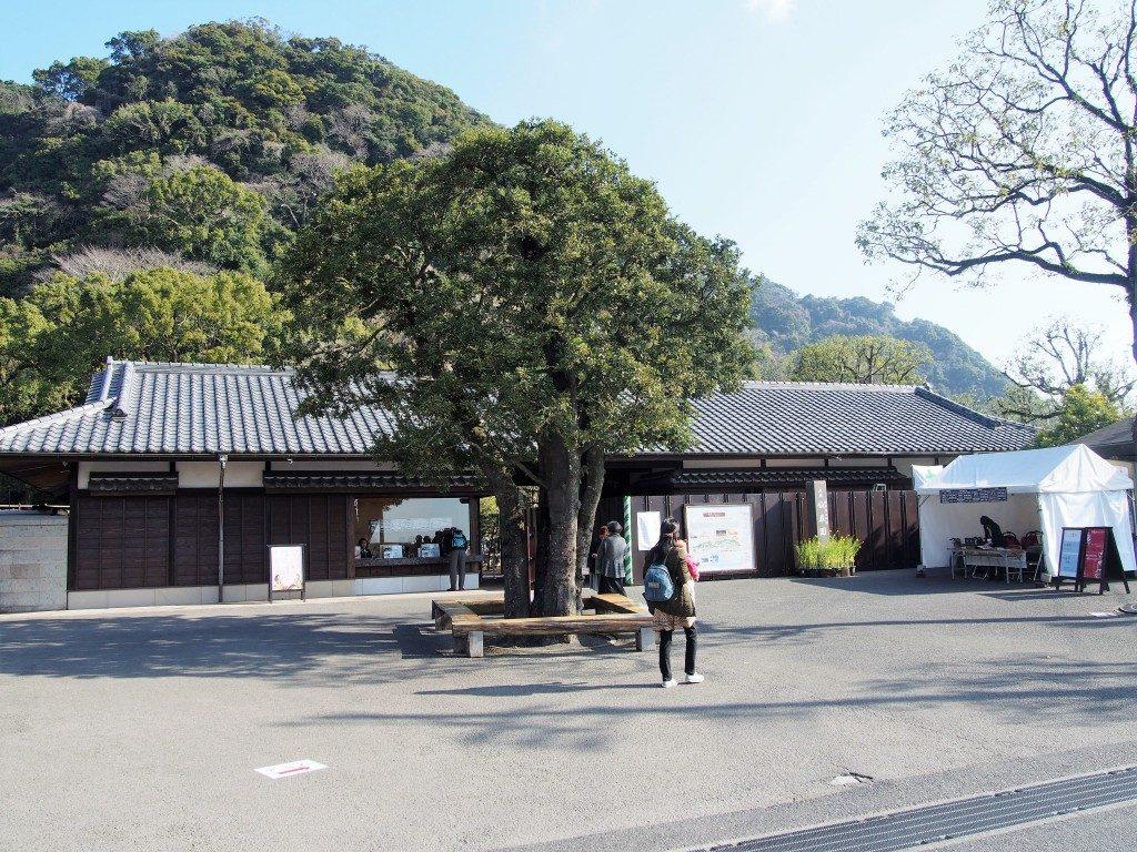 仙巌園の入口