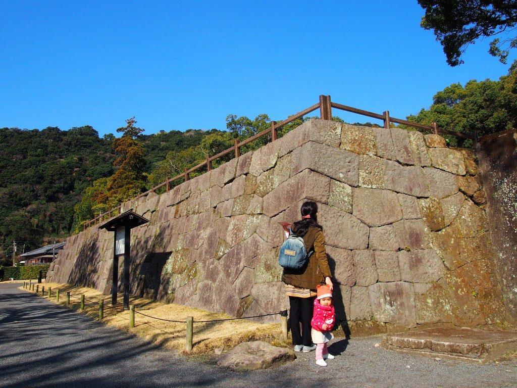 仙巌園の反射炉跡