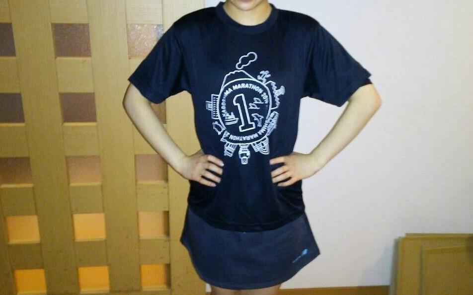 鹿児島マラソンのTシャツ