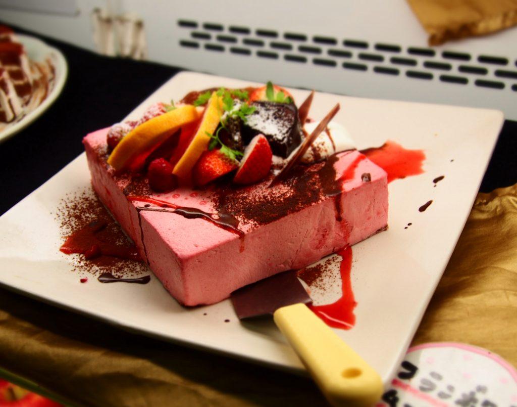 フランボワーズムースケーキ