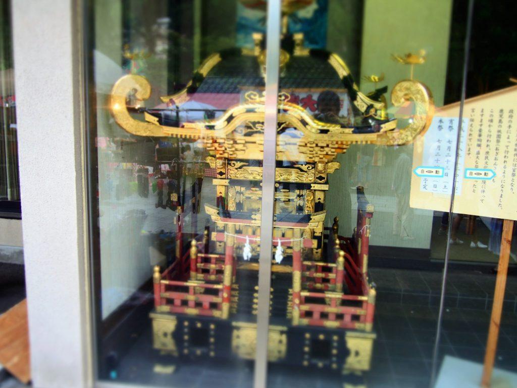 お神輿 八坂神社