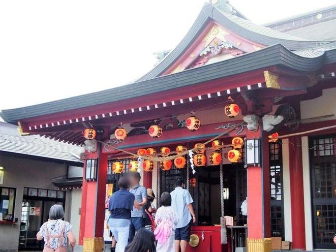 八坂神社の社殿