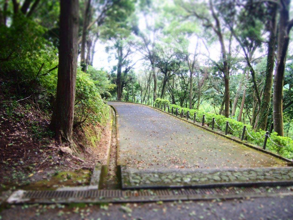 West path of Takaya-Sanryo