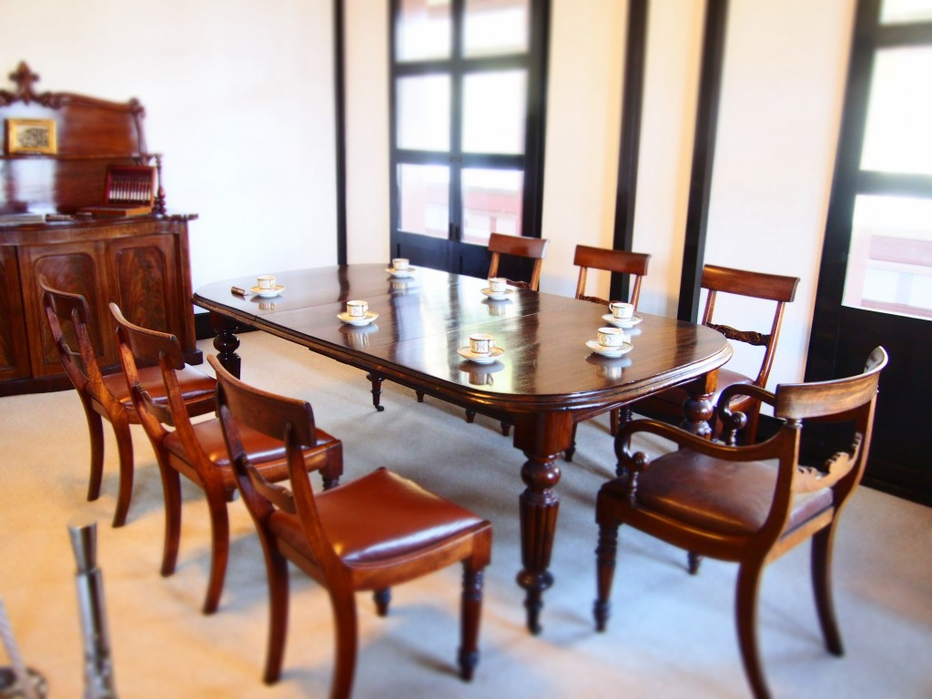 dining table of ijinkan
