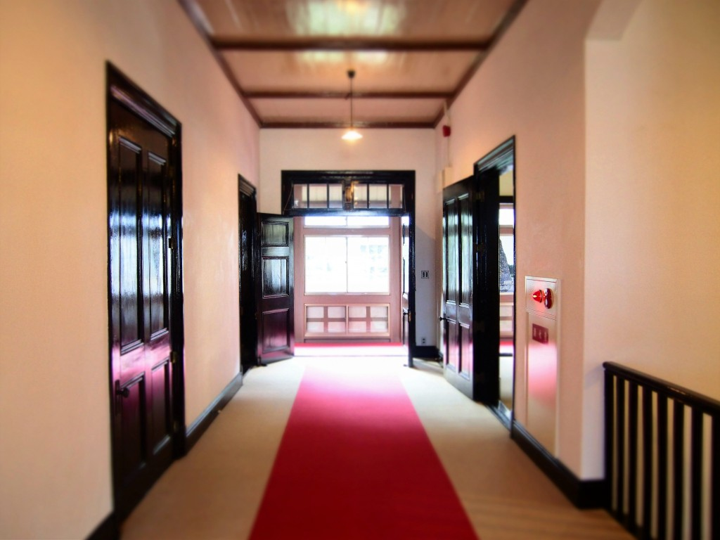 Hallway of 2nd floor of ijinkan