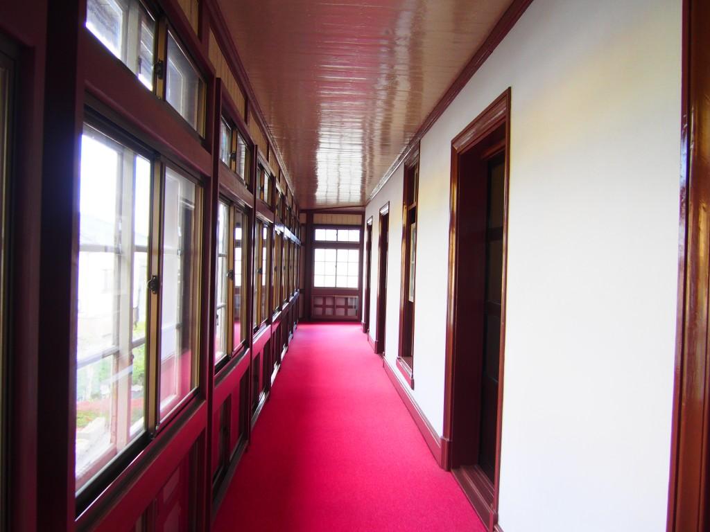 Hallway of ijinkan