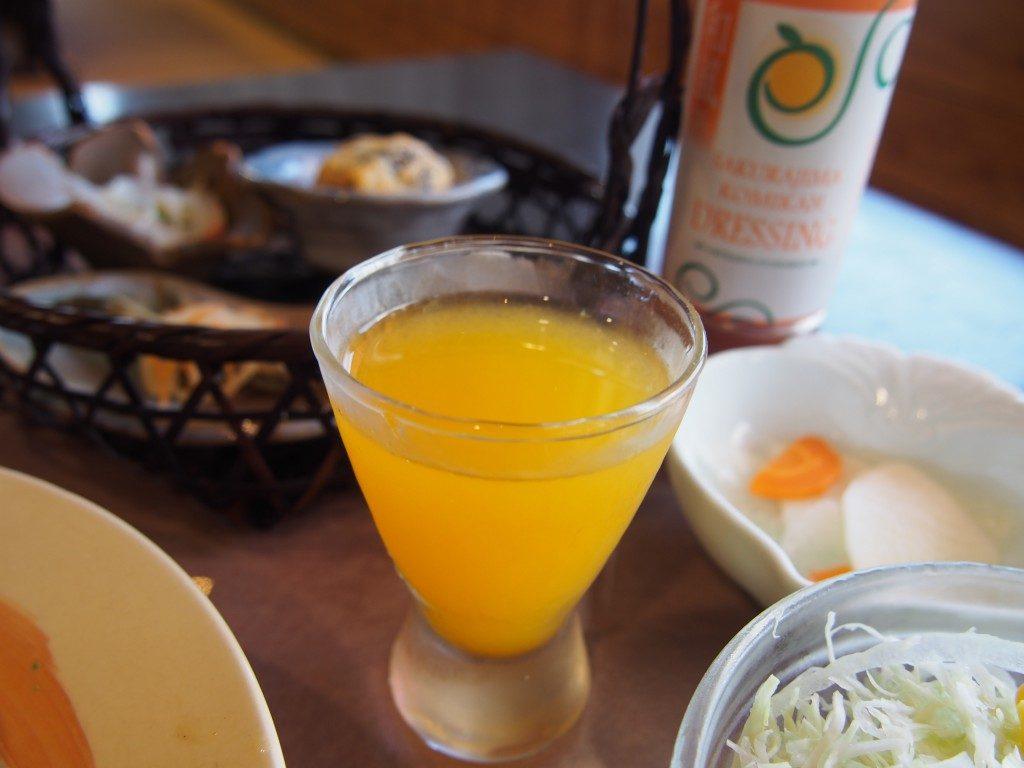 桜島小みかんのジュース