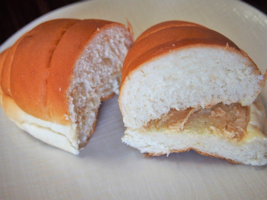 ピーナッツクリームパン