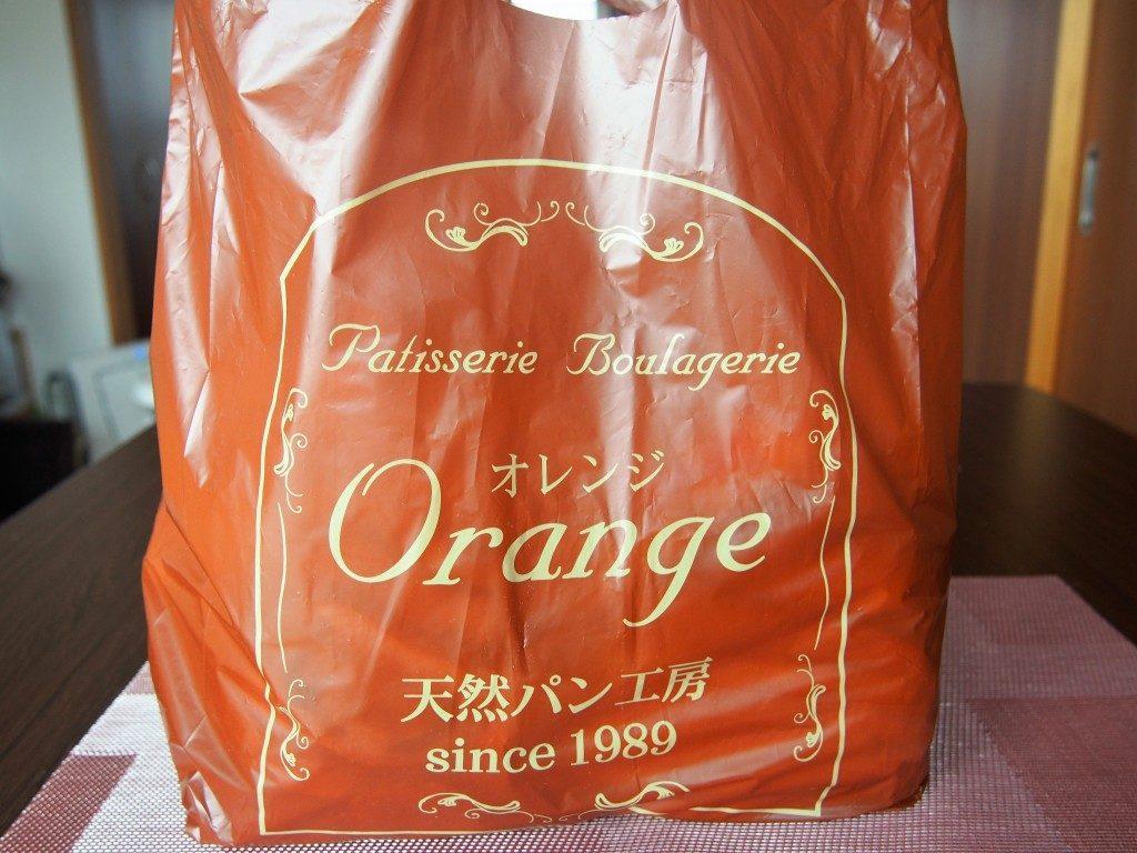 オレンジベーカリーの袋
