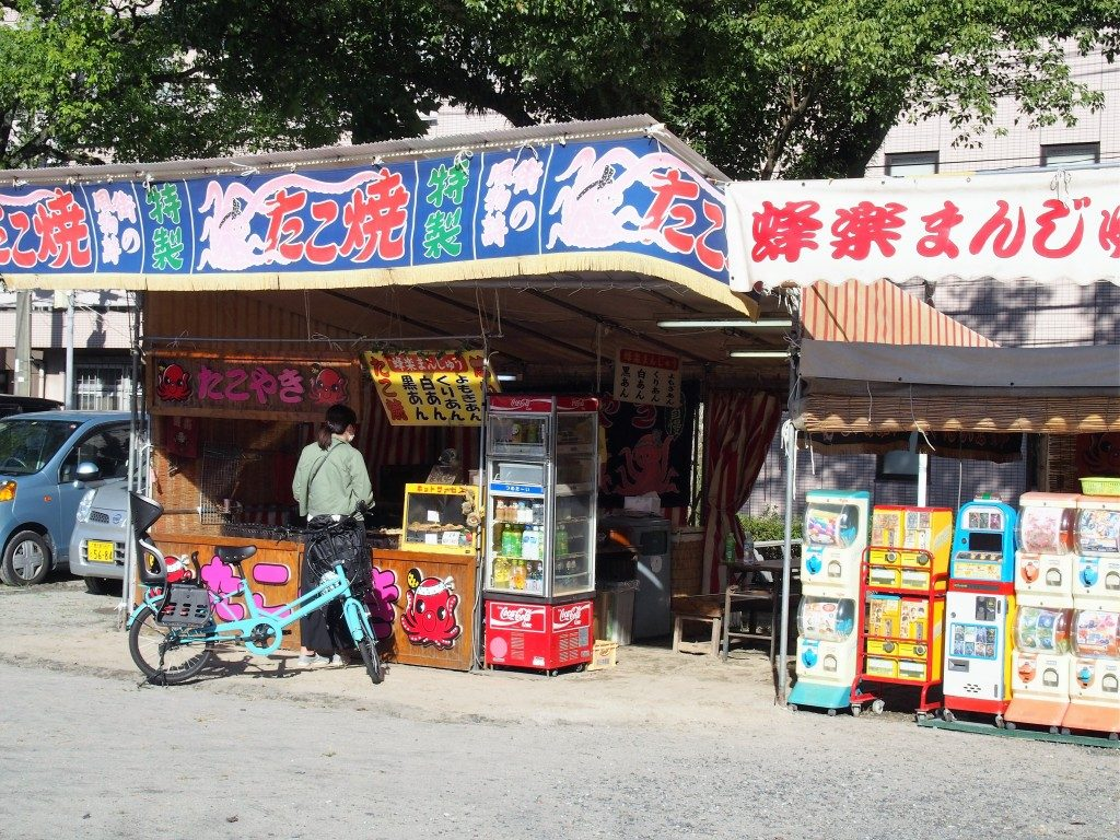 street vendors of tree market