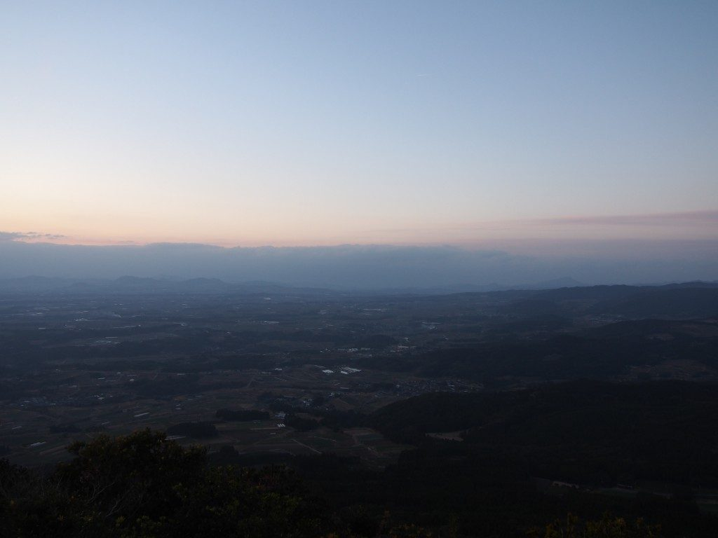 大野岳からの眺め