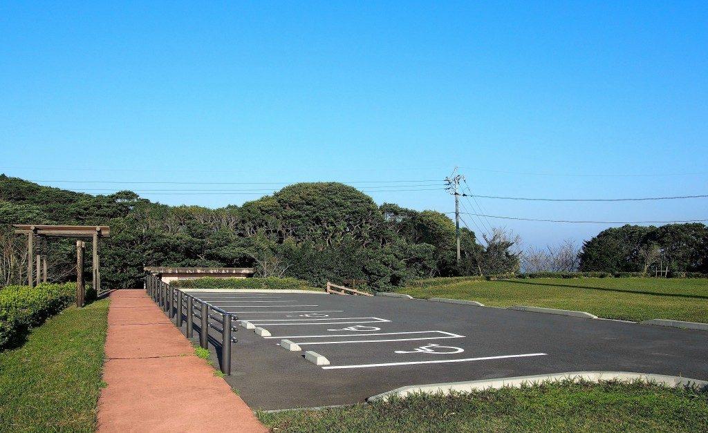 大野岳の駐車場