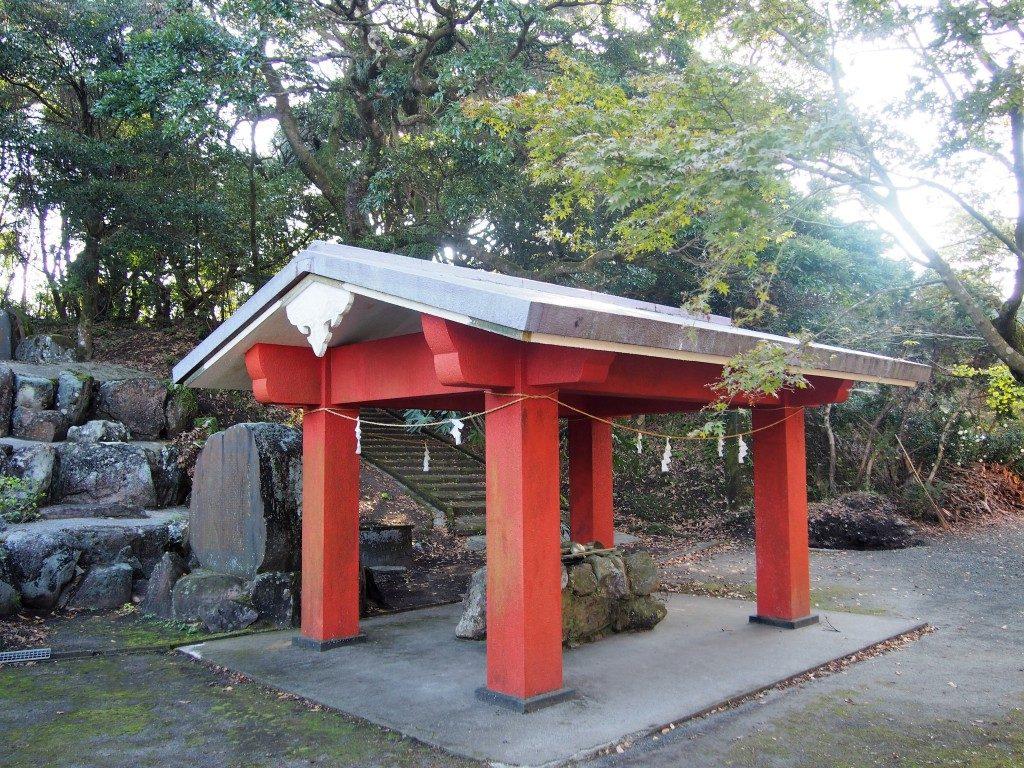 大野嶽神社の手水舎