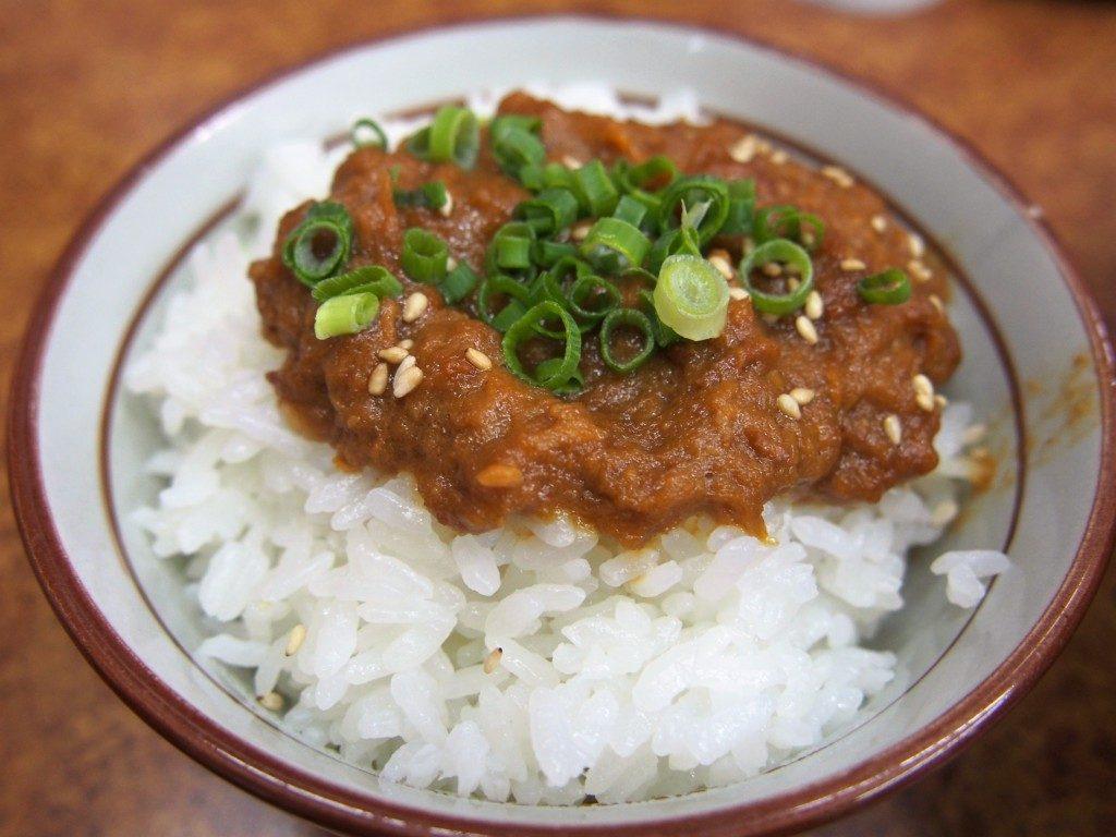 南香ラーメンの豚飯