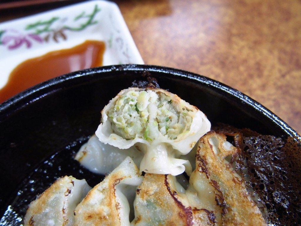 南香ラーメンの餃子
