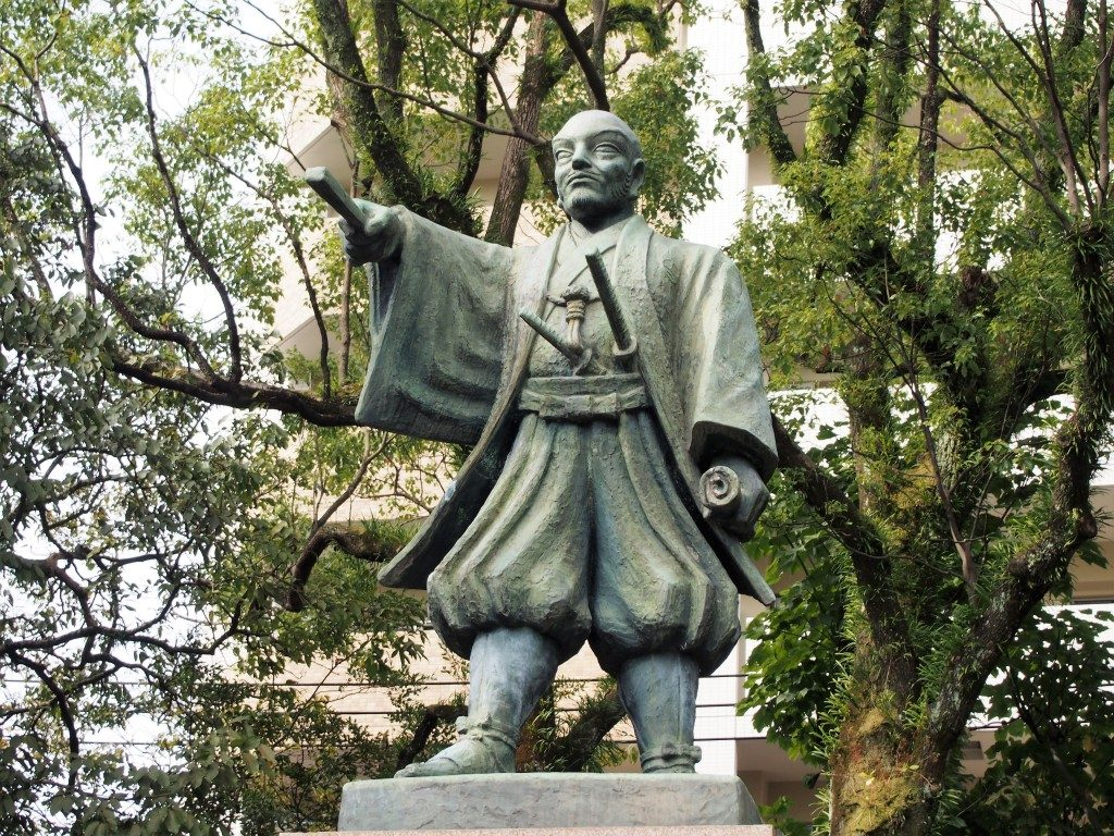 statue of hirata yukie