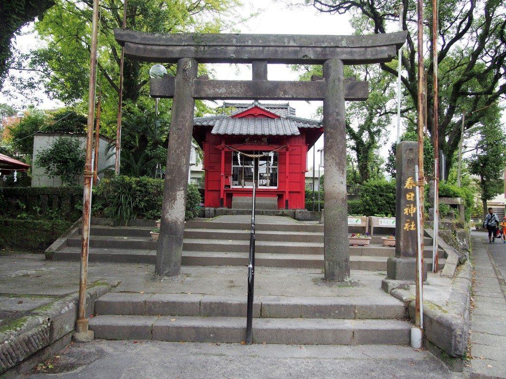 春日神社の社殿