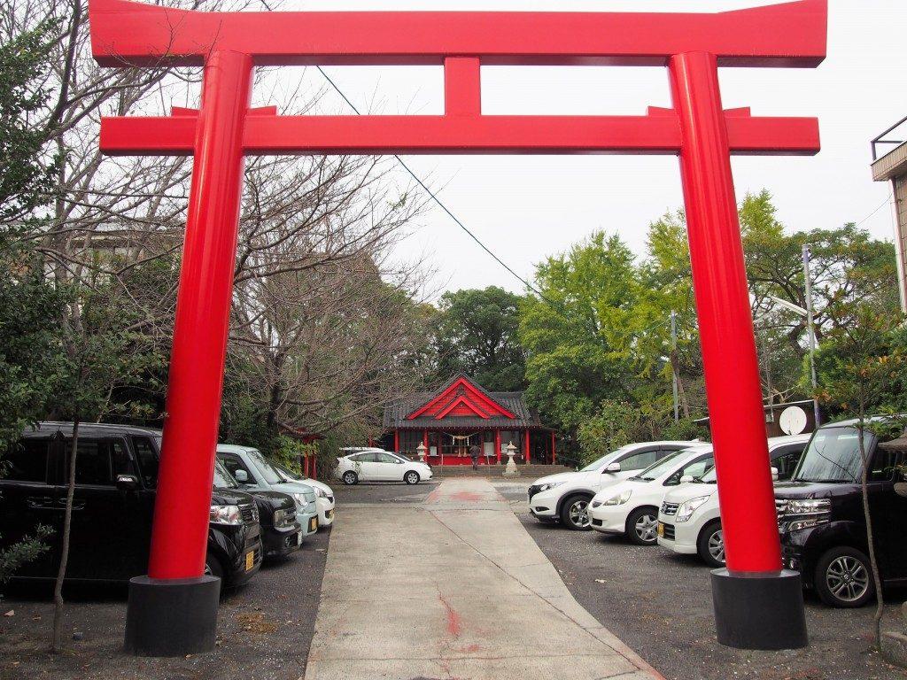 若宮神社の鳥居