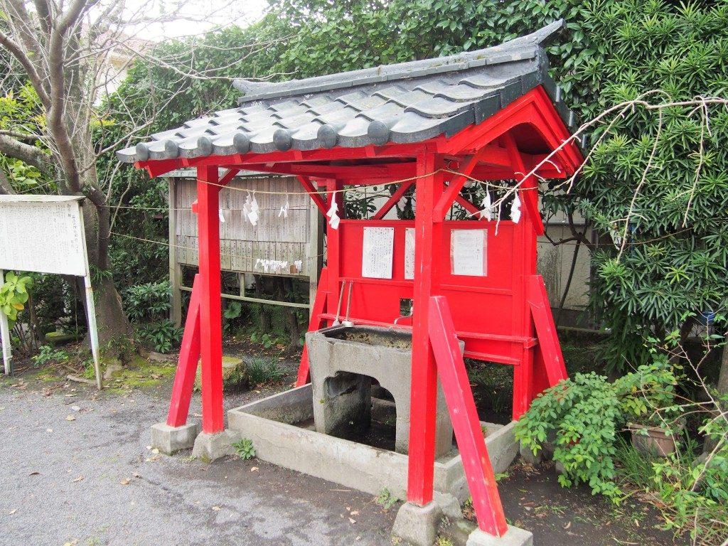若宮神社の手水舎