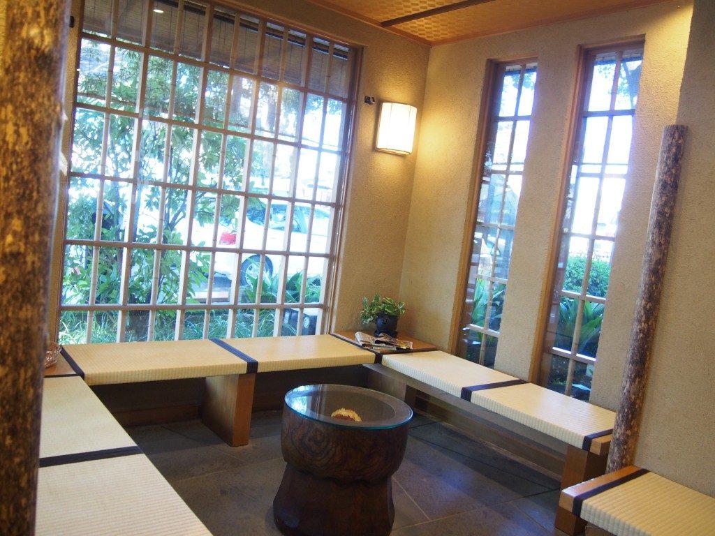 waiting room of ichi-ni-san