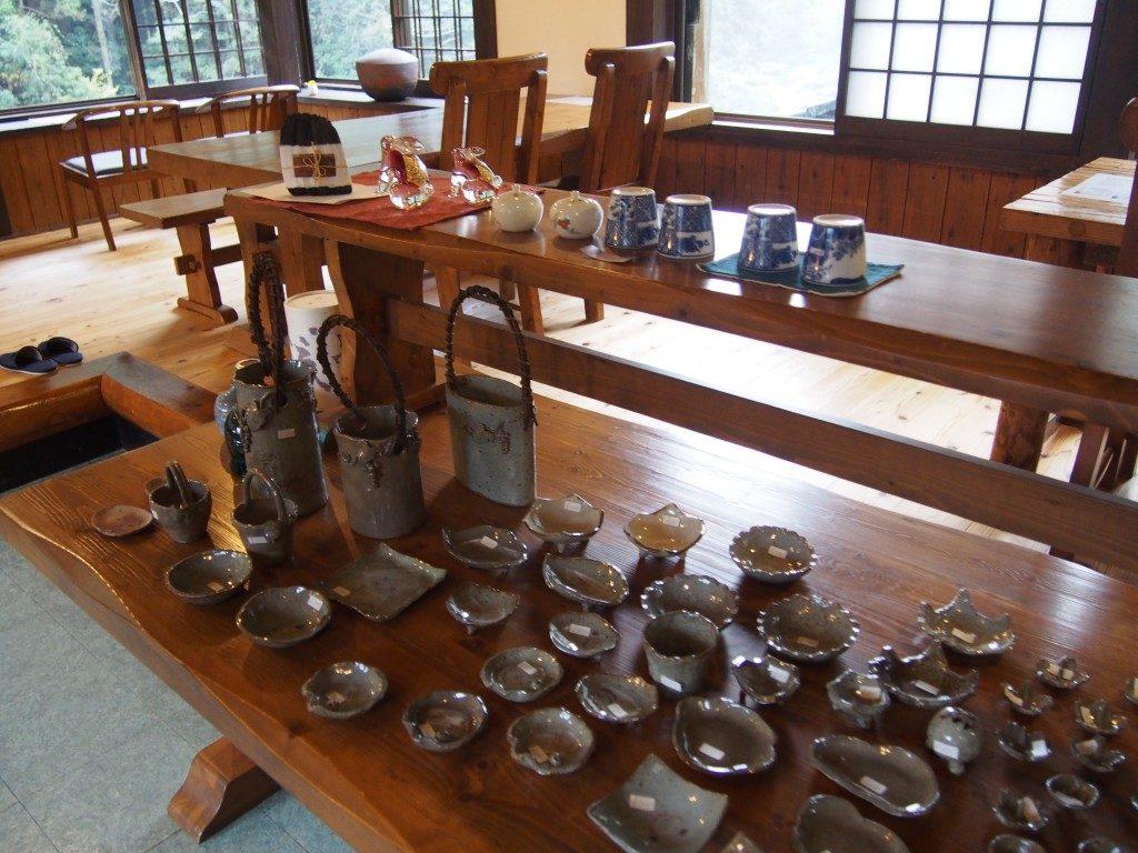 喫茶たんぽぽの陶器
