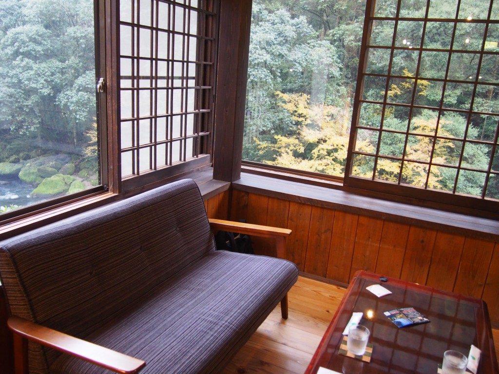喫茶たんぽぽのソファー席