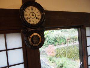 喫茶たんぽぽの時計