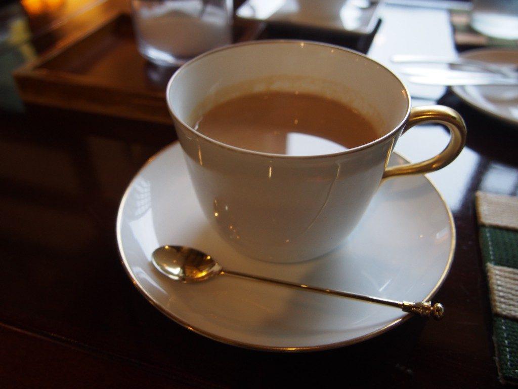 喫茶たんぽぽのカフェオレ