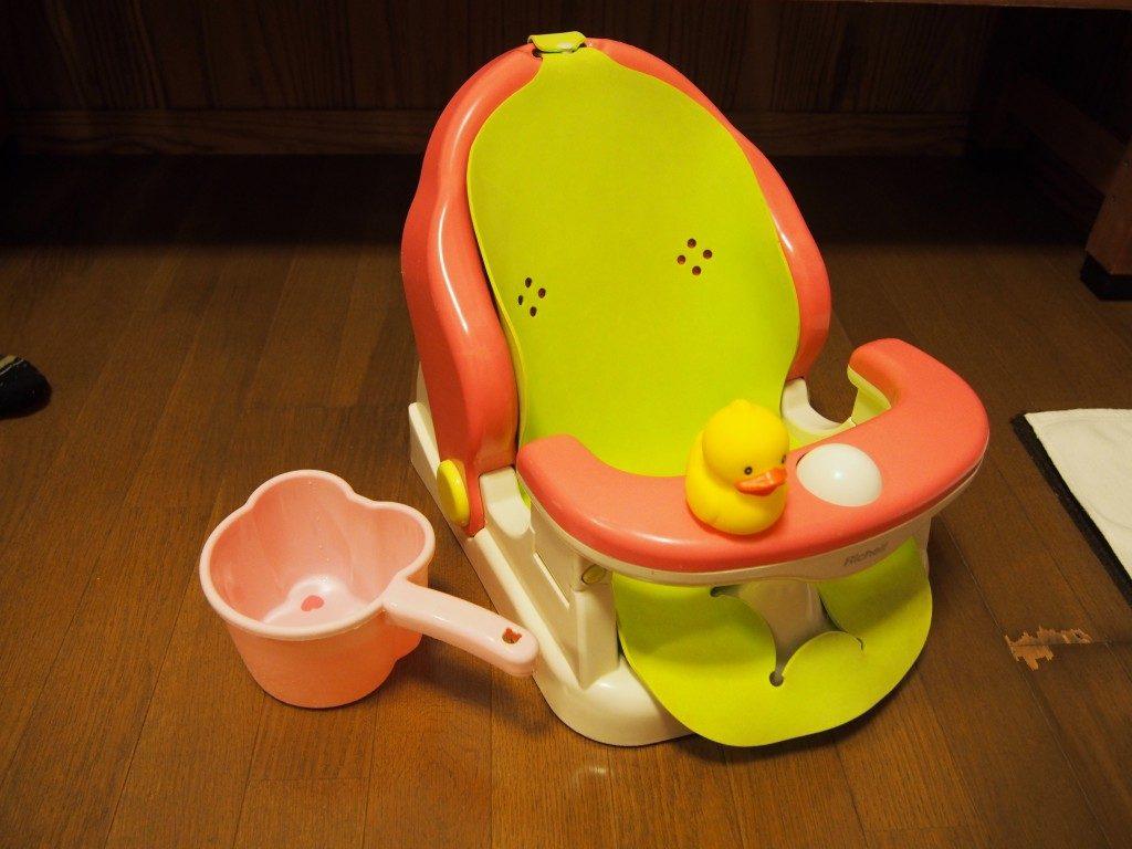 赤ちゃん用の入浴セット