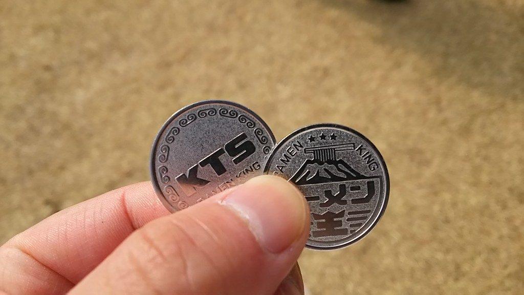 第3回ラーメン王決定戦の投票コイン
