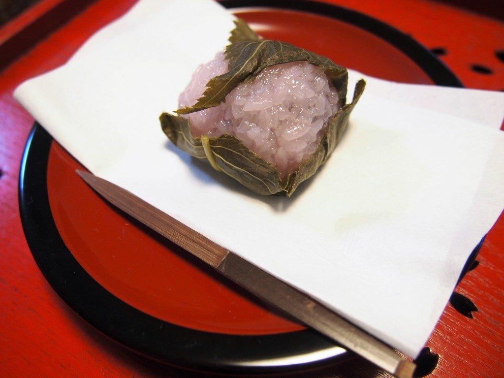 福美屋の桜餅