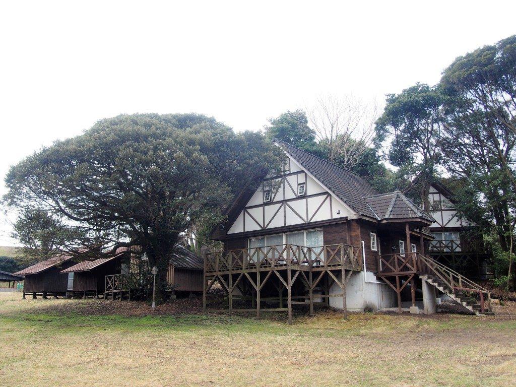 霧島高原国民休養地のコテージ