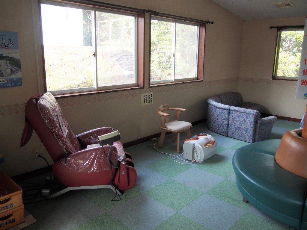 霧島高原国民休養地シンフォニースパのリラックススペース