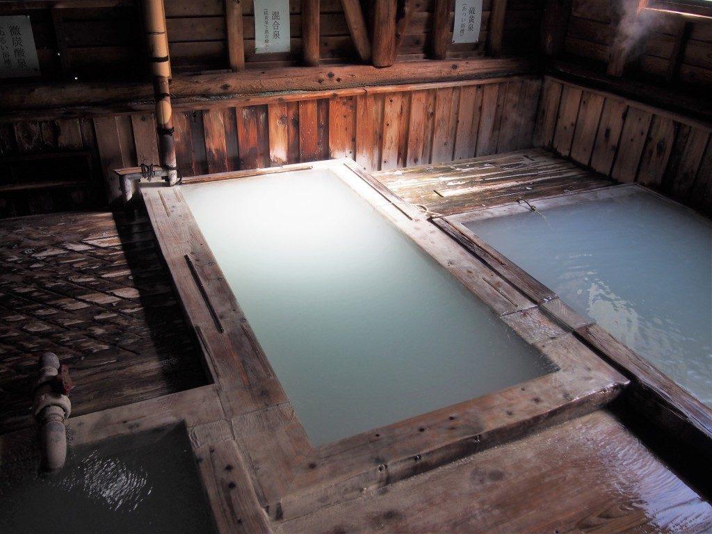 湯之谷温泉の混合泉
