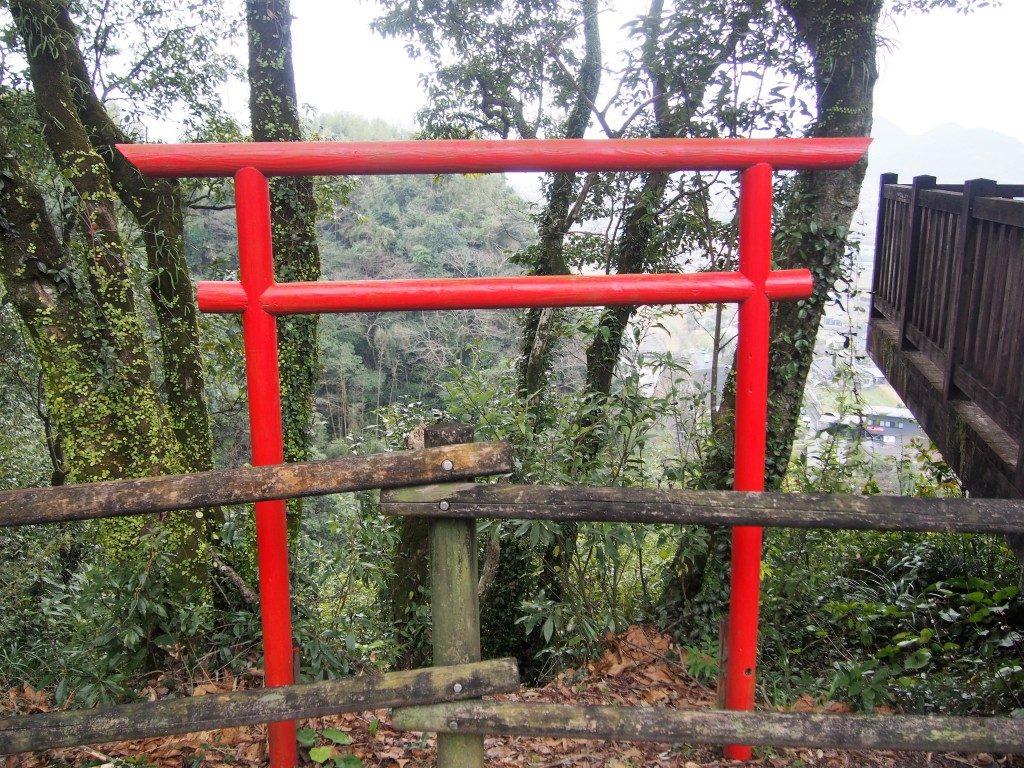 龍門滝の鳥居